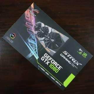 NVIDIA ASUS ROG STRIX GTX 1080 OC Edition