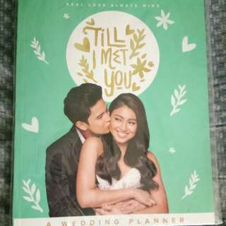 Till I Met You : Wedding Planner (JaDine)