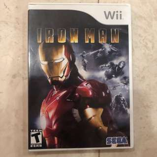 Iron-man Wii game