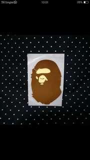 Bathing Ape Sticker