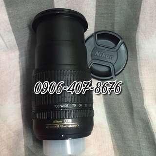 Nikon Nikkor af-s 18-135mm Lens