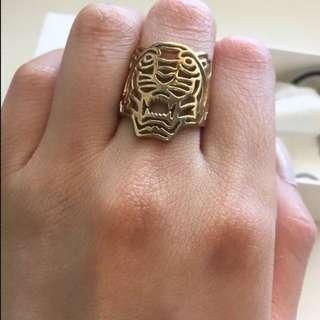 Kenzo Tiger Cutout Ring