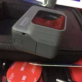 Gopro hero 6 black with lots of accesories