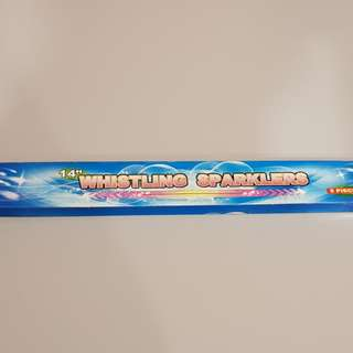 Whistling sparklers 5pc