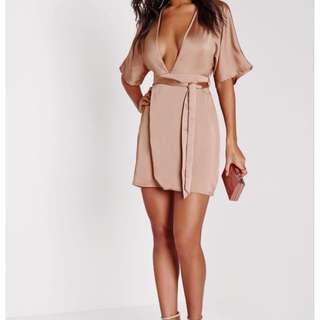 Missguided Kimono Dress