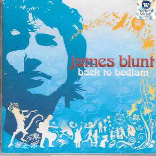 MY PRELOVED CD - JAMES BLUNT - BACK TO BEDLAM /FREE DELIVERY (F3X)