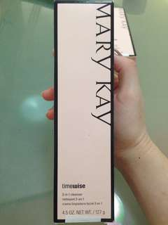 MARY KAY TIME WISE 3IN1 CLEANSER- Normal to dry skin