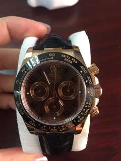 Rolex Chocolate Arabic Numerals