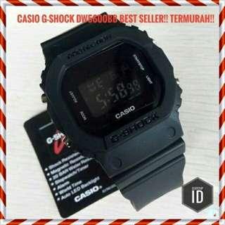 Gshock DW5600 BB black KW grade premium