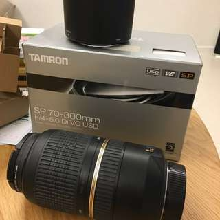 Tamron 70-300mm for Nikon with warranty