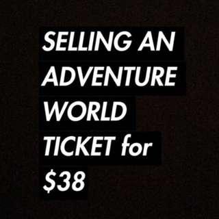 Adventure World Ticket/Voucher