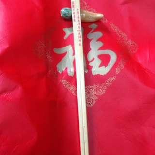 舊物象牙筷子紀念版一對