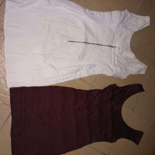 2 mini dress