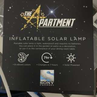 BN inflatable solar lamp