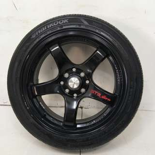 16 '' Sport Rim With Tyre 4x100 4x114.3 (SR960)
