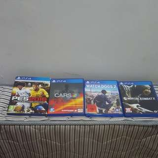 Preloved all kaset ps4 dan stik ps4