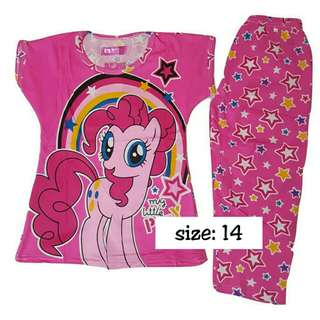 My little pony pajama set