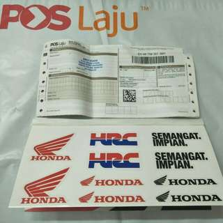 sticker honda original