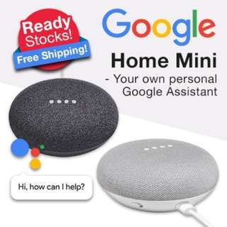 brand new and seal ready stock google home mini