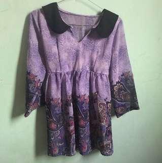 Baju motif batik wanita