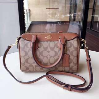 Coach Mini Bennet Satchel / Sling bag