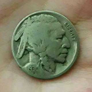美國1930年5分野牛幣