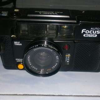 Camera Yashica full auto focus motor (with 2 lens )