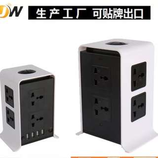 multi layer multiple Universal sockets and multiple USB adeptor. Many options singapore 3