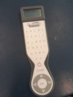 Collins electronic bookmark dictionary