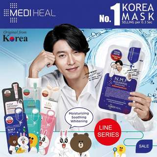 [PO] 10x sets Mediheal Face Mask Line Series & NMF/TeaTree/PlaceNTA/Collagen/White Hydra Sheet