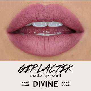 Girlactik Divine Liquid Lipstick
