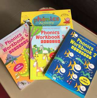 Usborne Phonics Workbooks