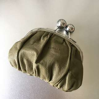 [BN] TopShop Leather Purse / Leather Coin Pouch