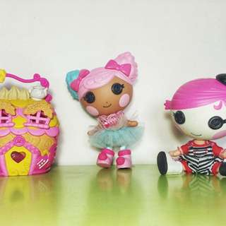Pre-loved Lalaloopsy Littles Bundle