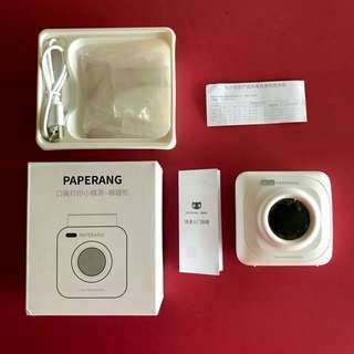 Paperang P1 Small Mobile Phone Instant Printer Wireless Bluetooth 4.0