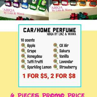 'Abiqa Car/Home Perfume Instock