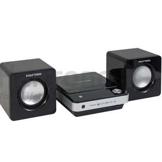 Polytron DTiB 3300 Fresh Masih SEGEL Dvd Usb With Speaker KATAPANG SOREANG