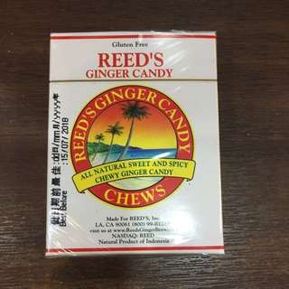 Reed's ginger candy 正宗印尼薑糖