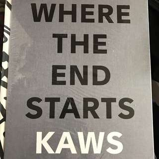 Kaws Where the end starts (2017) Book