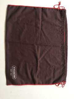 Coach original dustbag