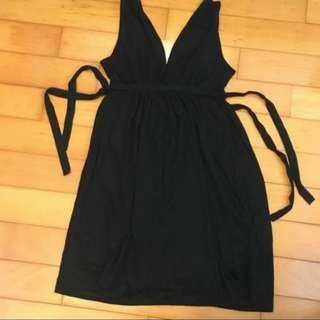 Zara cllection black dress sleeveless