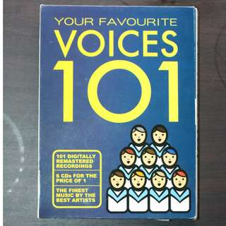 101 Classical Voices CDs
