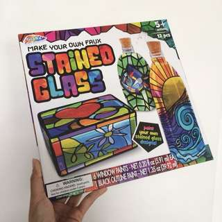 DIY Faux Stained Glass Kit