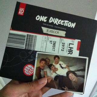 One Direction Take Me Home Yearbook Album