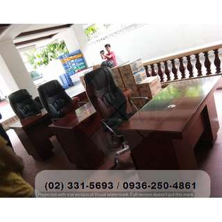 ( Executive Table-Chairs ) Office Partition*Furniture