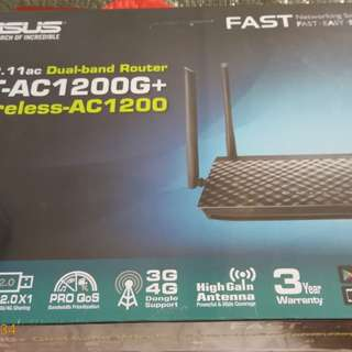 New ASUS RT-AC1200
