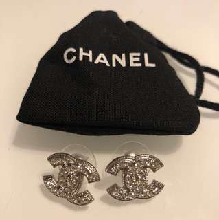 Chanel CC Earrings (New)