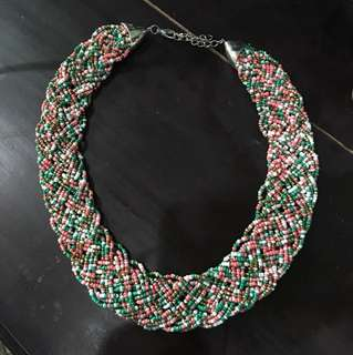 Beaded Accent Necklace