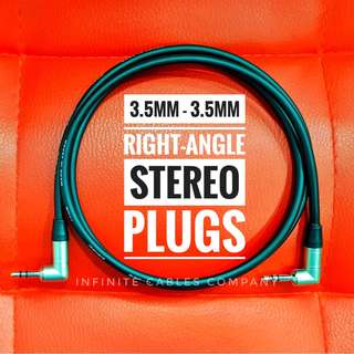 NEUTRIK 3.5mm Right-Angle Stereo plugs with Canare Cable