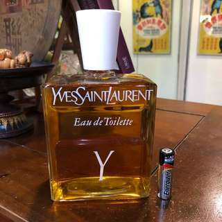 HUGE 16 Oz Vintage Y by Yves Saint Laurent old formula EDT Splash